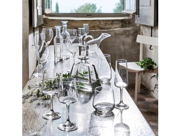 Lot de 6 flûte à champagne en cristallin 16cl (prix unitaire : 3.6 euros) Alinéa