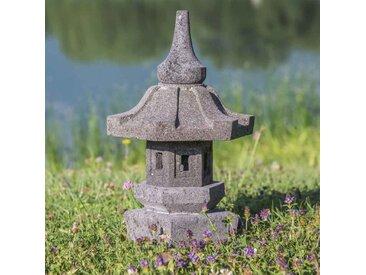 Lampe de jardin japonais en pierre de lave 50cm