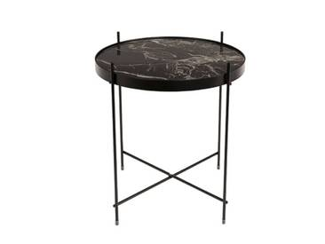 ZUIVER Table basse CUPID MARBLE noir