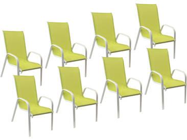 Lot de 8 chaises Marbella