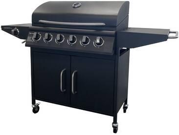 Barbecue 6 brûleurs + 1 feu latéral Arizona