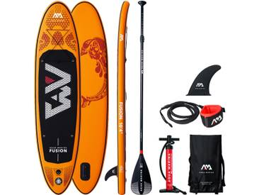 Stand Up Paddle gonflable FUSION et ses accessoires