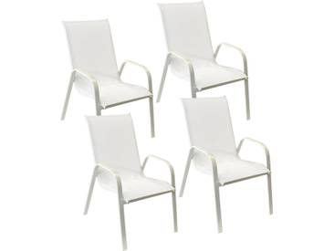 Lot de 4 chaises Marbella