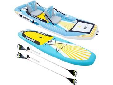 Kayak 2-en-1 Evolution et ses accessoires