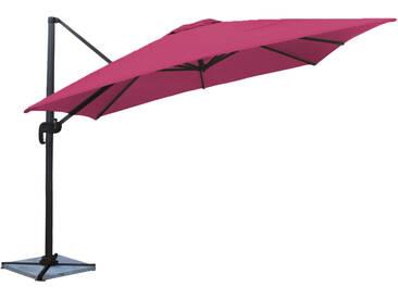 Parasol déporté carré Molokai 3x3m