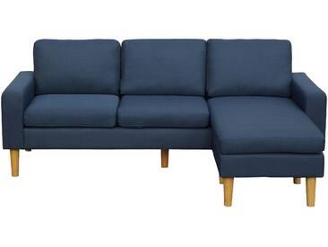 Canapé dangle réversible Ludwig 3 places bleu