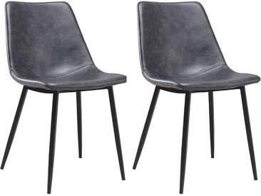 Lot de 2 chaises vintage Élia