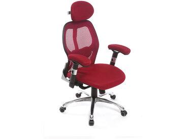 Fauteuil de bureau ergonomique rouge ULTIMATE V2 plus