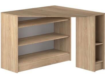 Bureau dangle design bois clair CORNER