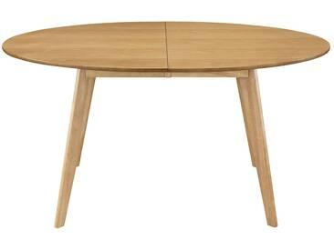 Table à manger extensible design chêne L150-200 MARIK