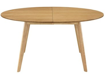 Table à manger extensible design chêne L150-200 MARIK
