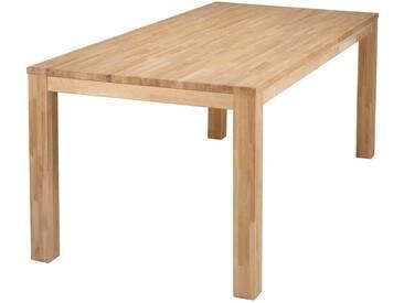 Table à manger design 180x85 en chêne LUPA