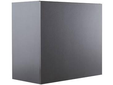 Elément mural COLORED Carré gris anthracite mat
