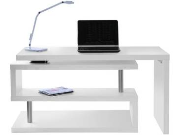 Bureau design modulable blanc mat MAX
