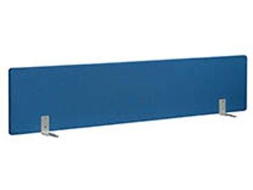 Panneaux écrans acoustiques L 180 cm bleu fixation alu pour bureaux Bench