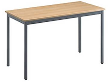 Table rectangle modulable Classique