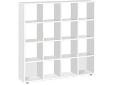 Bibliothèque 16 cases blanc Exprim