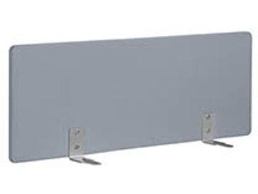 Panneaux écrans acoustiques L 120 cm gris fixation alu pour bureaux Bench