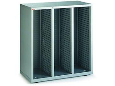 Comptoir 3 colonnes Clen à serrure aluminium