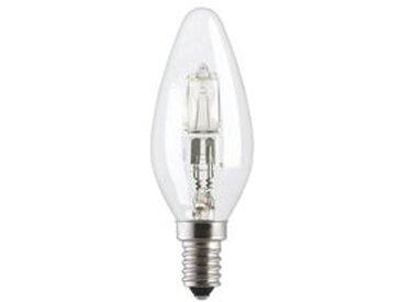 Ampoule halogène flamme 20W E14