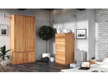 Armoire en bois massif 2 portes - Zenno