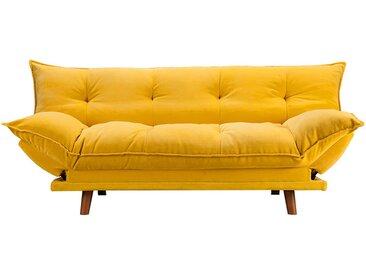 Canapé clic clac jaune scandinave - Pillow