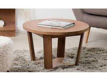 TABLE BASSE RONDE EN MINDY MASSIF Ø65 CM - OSLO
