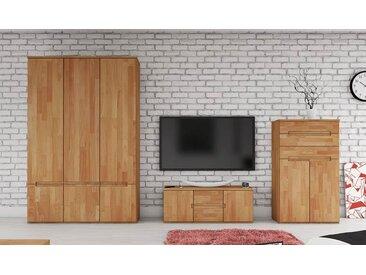 Armoire en bois massif 3 portes - Zenno