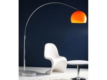 LAMPADAIRE ARC ORANGE XL