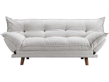 Banquette convertible gris scandinave - Pillow