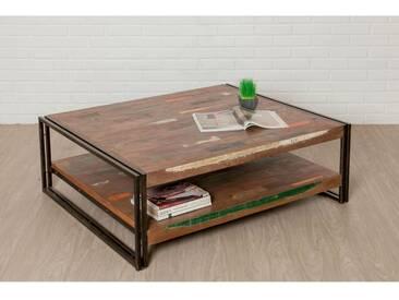 Table basse rectangulaire LOFT XXL Teck recyclé