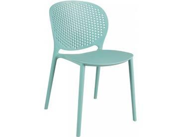 Chaise elia turquoise BENCUBBIN by J-Line