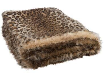 Plaid imitation fourrure leopard BEWS by J-Line