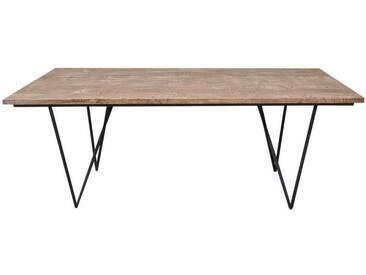 Table à manger rectangulaire bois ALBACUTYA by J-Line