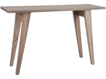 Console rectangulaire bois naturel AUBURN by J-Line