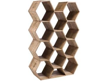 Etagere hexagone bois BINBEE by J-Line