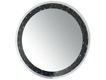 Miroir rond diamants BIDDON by J-Line