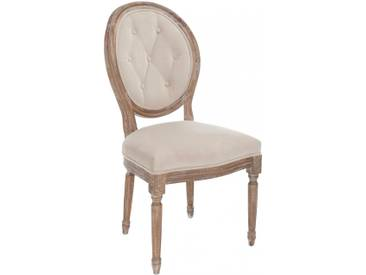 Chaise versailles chene BARNSLEY by J-Line
