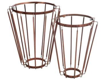 2x Tables gigognes coniques BANNA by J-Line