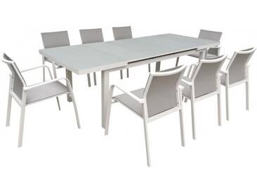 Table de jardin extensible NICE aluminium