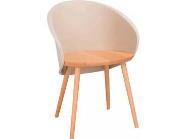 Chaise penez marron BENDOURA by J-Line