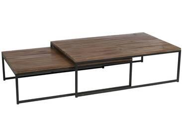 x2 tables de basse métal BILOELA by J-Line