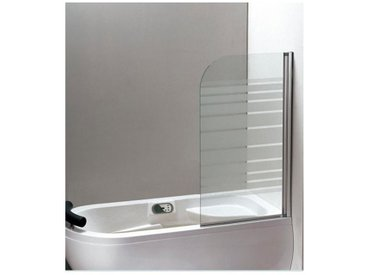 Pare baignoire ador 130*75 cm - Droit