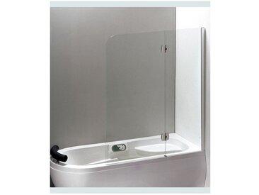 Pare baignoire KIRUMO 120 cm x 150 cm - Droit