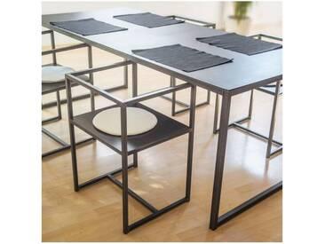 Table AURA - SANS option lot de 4chaises
