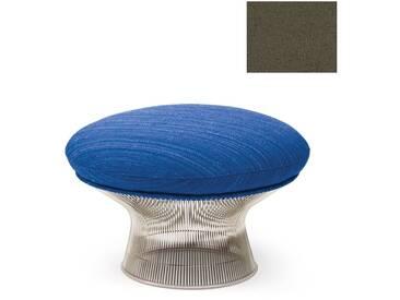 Knoll International Platner Ottoman - Nickel poli - Circa - gris foncé