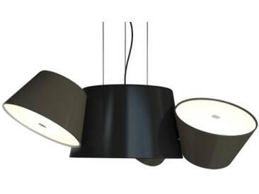 Marset Mini-luminaire TAM TAM - gris-marron - noir