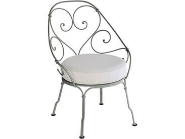 Fermob Fauteuil 1900 Cabriolet - gris blanc - 48 romarin