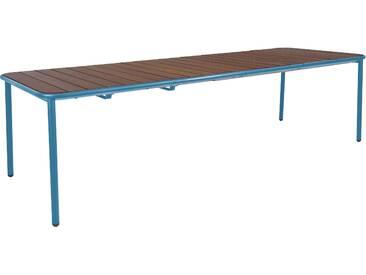 Emu Table Yard - frêne - bleu - L (extractible)