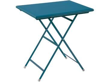 Emu Petite table pliable Arc en Ciel - bleu